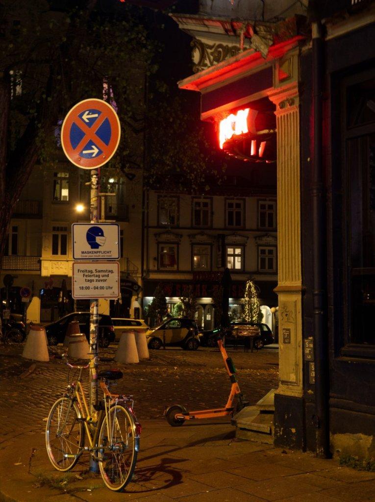 Geheimtipp Hamburg Helden Fahrrad Versicherung Nachts