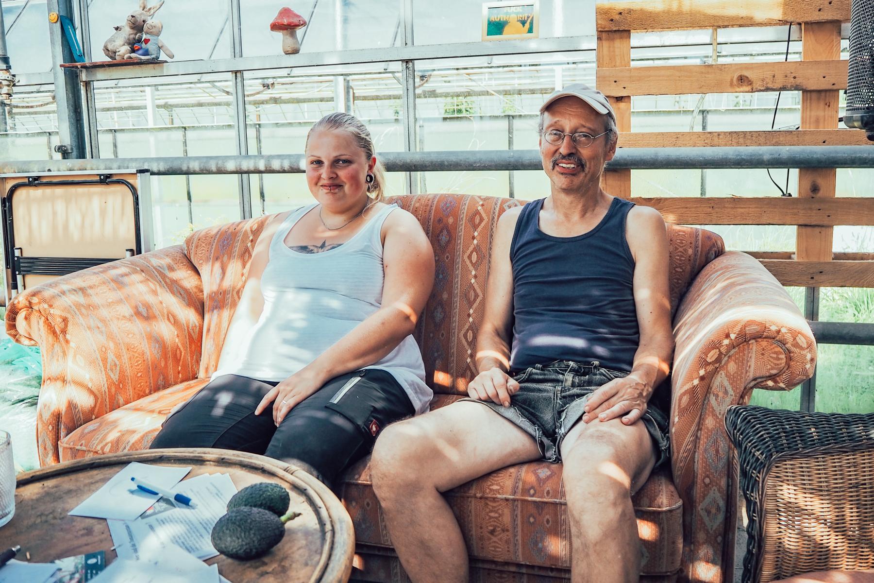 Wir bedanken uns bei den Tomatenrettern Jule und Hilmar für den herzlichen Empfang auf dem Hof vorm Deich.